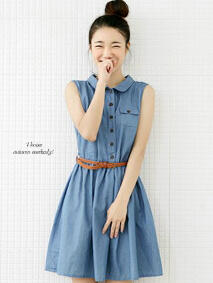 dress tara+belt @64rb